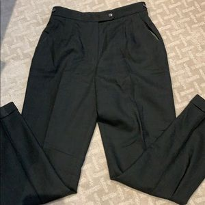Woman's Dark Green Trouser Pant Size 10